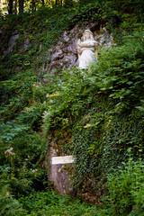 Angel sculpture in Sipka Stramberk