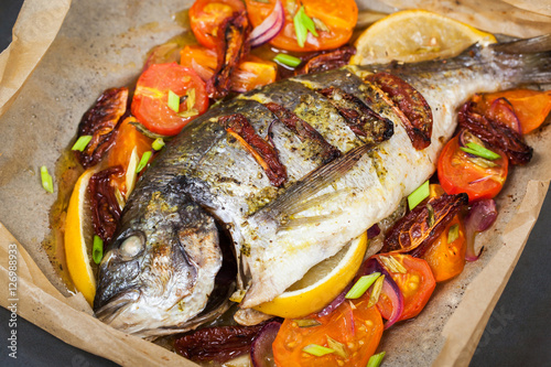 how to cook whole sea bream