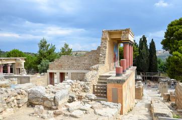 Antike Ausgrabungsstätte Ruine