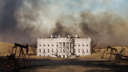 Wall Mural - White House Climate Future 3