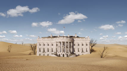 Wall Mural - White House Climate Future 1