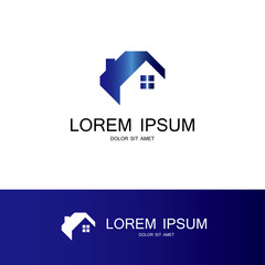 houses vector logo