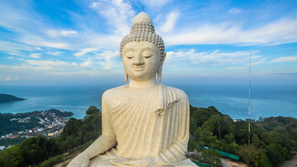 sunrise at big Buddha