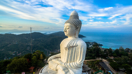 sunrise at big Buddha