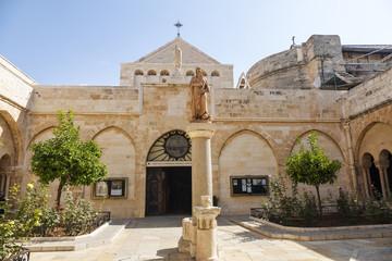 Palestin. The city of Bethlehem. The Church of the Nativity of Jesus Christ