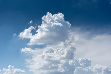 clound on sky