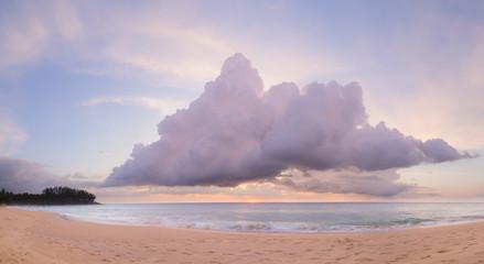 Natai,Phang-nga,Thailand ,beach at sunset.