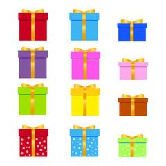 Gift, present icon vector