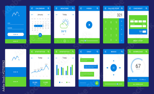 Ui ux and gui template layout for mobile apps statistic dashboard ui ux and gui template layout for mobile apps statistic dashboard calculator and maxwellsz