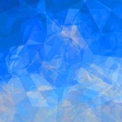 Bright triangular background