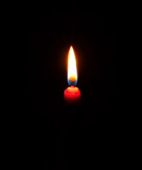 Fire a candle.