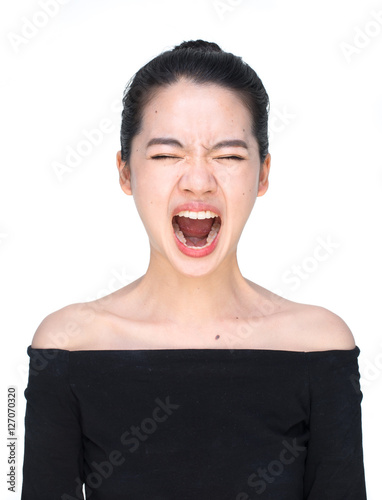 Screaming Asian Woman 89