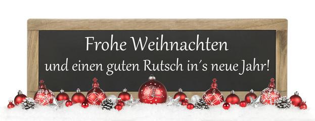 Frohe Weihnachten Und Guten Rutsch Lustig Europaische