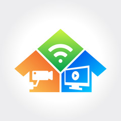 Home Security Technology, cctv and monitoring system