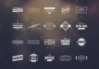 20 Vintage Logo Layouts 4