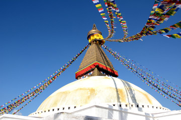 Boudhanath (also called Boudha, Bouddhanath or Baudhanath) is a buddhist stupa in Kathmandu, Nepal