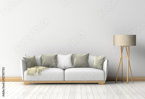 couch im raum vor einer wand stockfotos und lizenzfreie bilder auf bild 127107753. Black Bedroom Furniture Sets. Home Design Ideas
