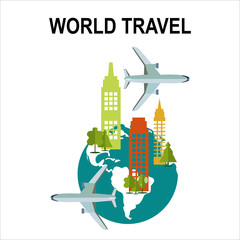 Travel illustration design,vector