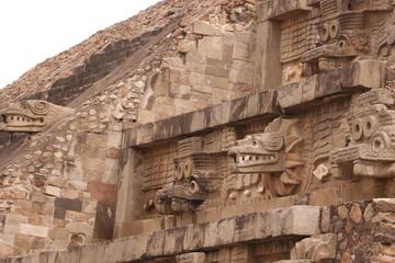 Aztec pyramid, teotihuacan