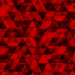 Abstract red triangle background. Vector illustration eps10