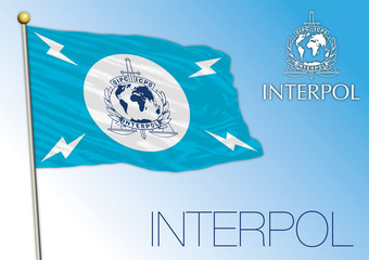 Interpol flag, International organization