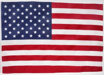 USA souvenir flag made in China