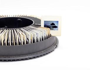 photo in slide show classic rack film