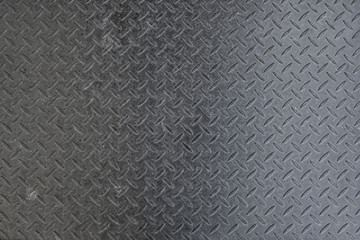 diamond iron plate texture as a background