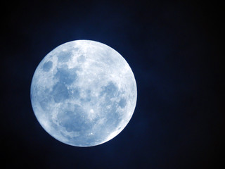 Full moon or Super moon