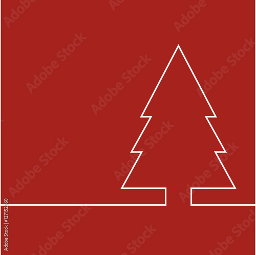abstrakt weihnachtsbaum als grafik vektor illustration. Black Bedroom Furniture Sets. Home Design Ideas