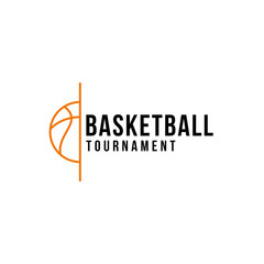 Basketball professional logo design vector