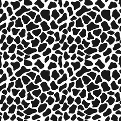 Vector seamless pattern. Abstract spotted background.