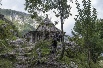 Typical Albanian house