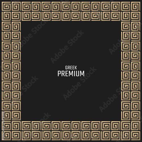 """Vector geometric background greek style. Meander vector ..."