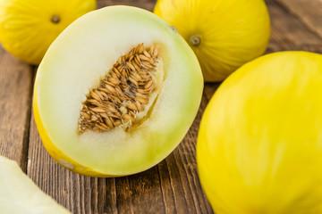 Honeydew Melon (selective focus)