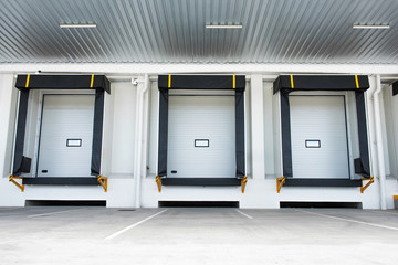 Gates for goods under overhang or loading bay for distribution warehouse is the heart and soul of a warehouse storage, loading and shipment to the destination