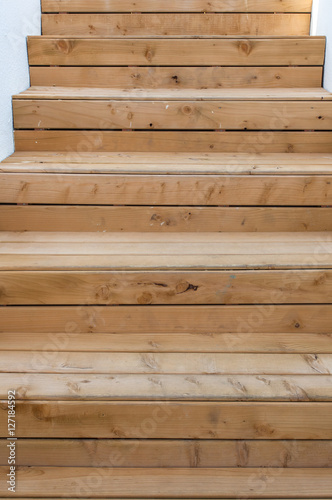 Escalier ext rieur en bois stock photo and royalty free for Escalier exterieur bois kit