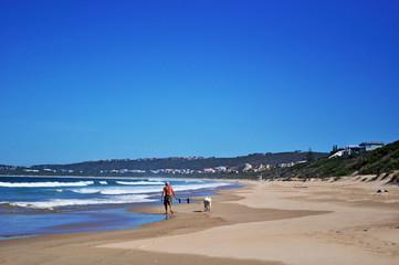 Sud Africa, 26/09/2009: la spiaggia di Plettenberg Bay, chiamata Plet o Plett e in origine Bahia Formosa dai primi esploratori portoghesi, una città sulla Garden Route