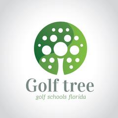 Golf logo template.