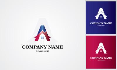 roof letter A logo