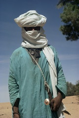 Tuareg man, Algeria, North Africa, Africa