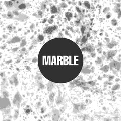 Marble abstract black and white background.