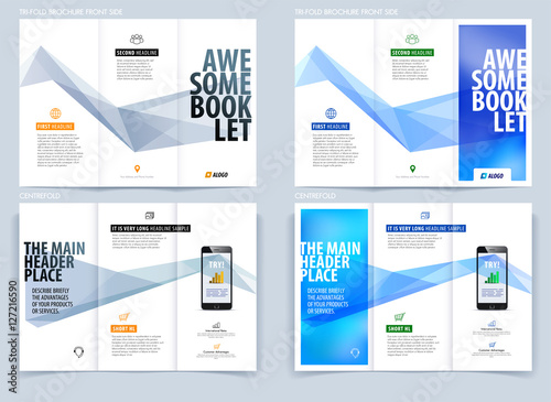 engineering college brochure design - tri fold brochure template layout cover design flyer in