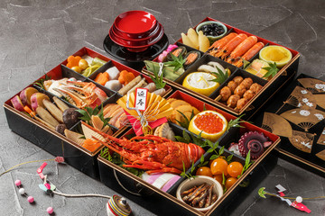 おせち料理 General Japanese New Year dishes(osechi)