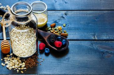 Diet breakfast ingredients