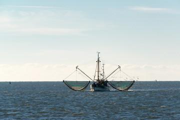 Krabbenkutter in der Nordsee
