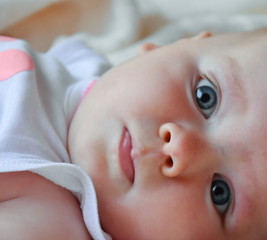 baby face closeup photo. Beautiful picture, background, wallpape