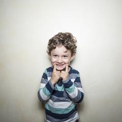 Niño alegre