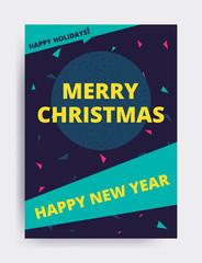 Merry christmas New Year design