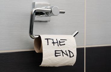 The End - eine witzige, aber unangenehme Botschaft